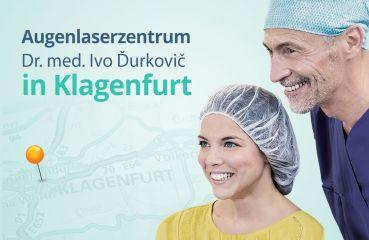 Augenlaserzentrum Dr. med. Ivo Ďurkovič in Klagenfurt im Herzen von Kärnten