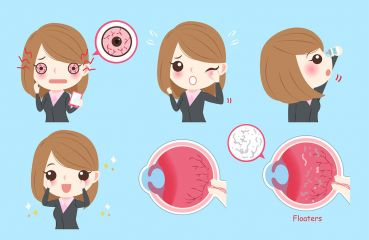 Glaskörpertrübung: Ursachen & Behandlung
