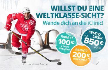 Winter Rabatt bei ReLex SMILE 3D & Z-LASIK Premium Augenlaseroperationen