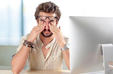 Ursachen von Augenproblemen in der digitalen Arbeitswelt - und mögliche Abhilfen